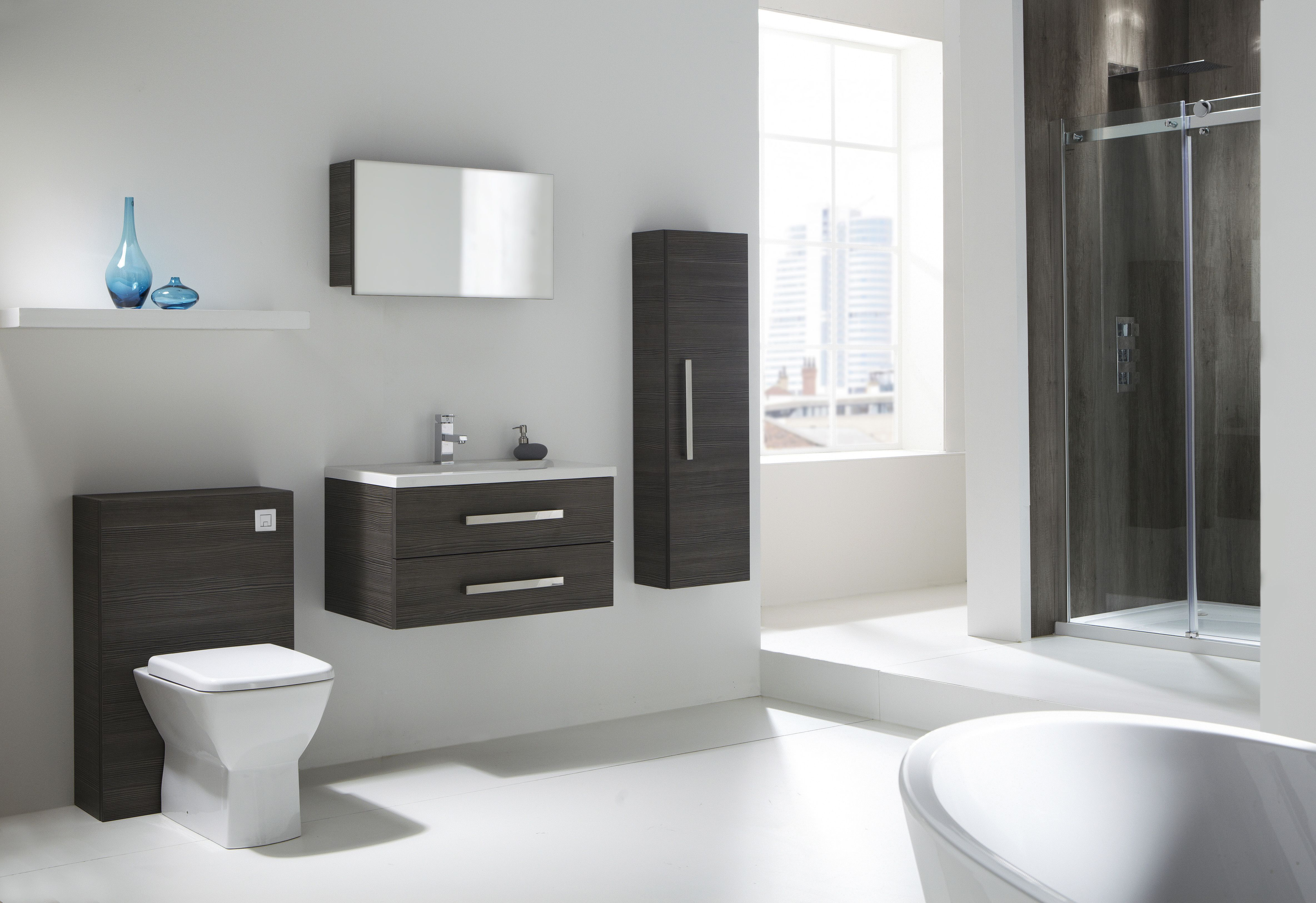 The Aquatrend brand offers a range of quality bathroom furniture to