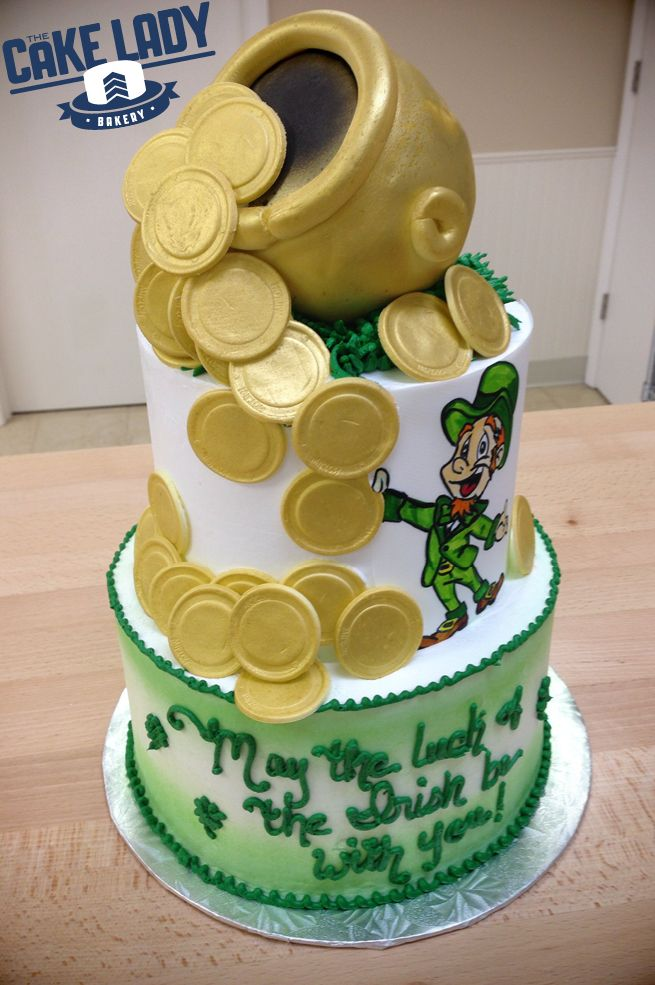 St Patricks Day Cake From The Cake Lady Sioux Falls Sd St