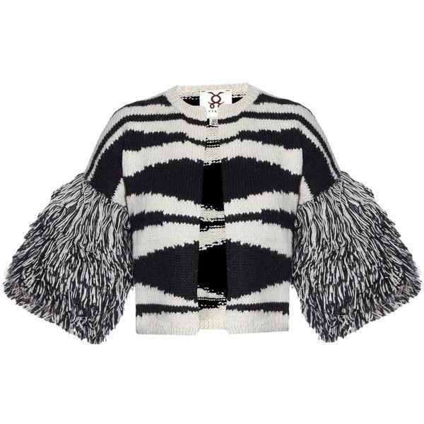 Figue Pilar cropped alpaca-knit cardigan (4.586.600 IDR) ❤ liked on ... 331cf155f