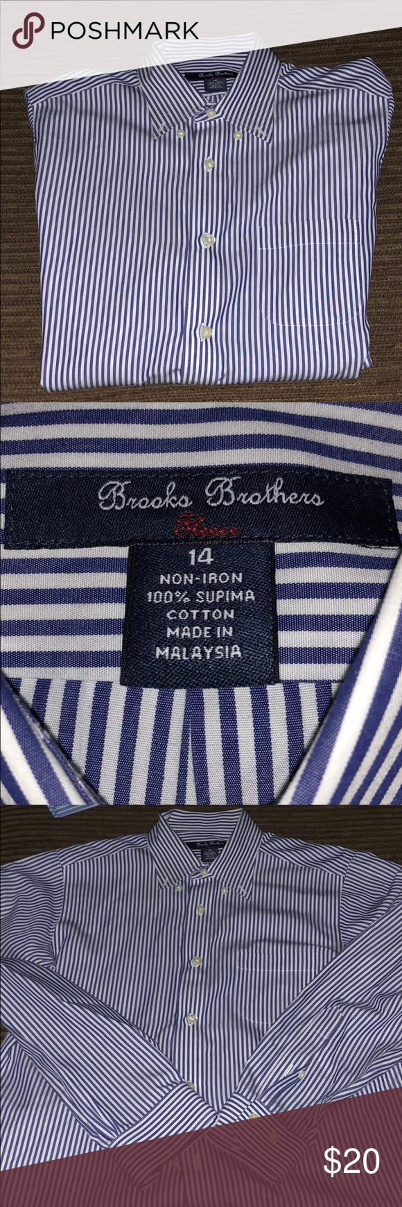 Brooks Brothers Boys Dress Shirt In 2018 My Posh Closet