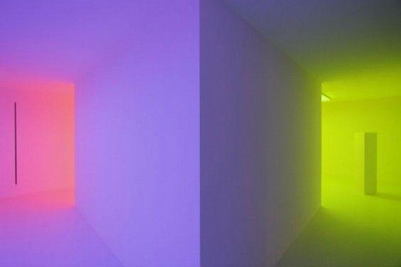 """""""Light Show"""" by Carlos Cruz-Diez"""