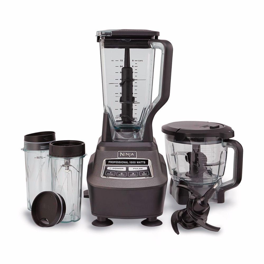 Nutri Ninja Mega Kitchen System 1500 Blender Food Processor Bl770