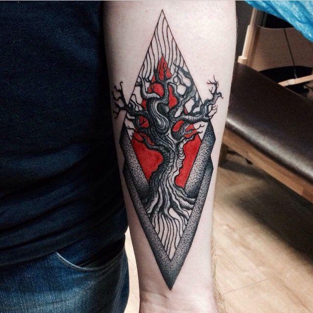 Asian tattoo body mod