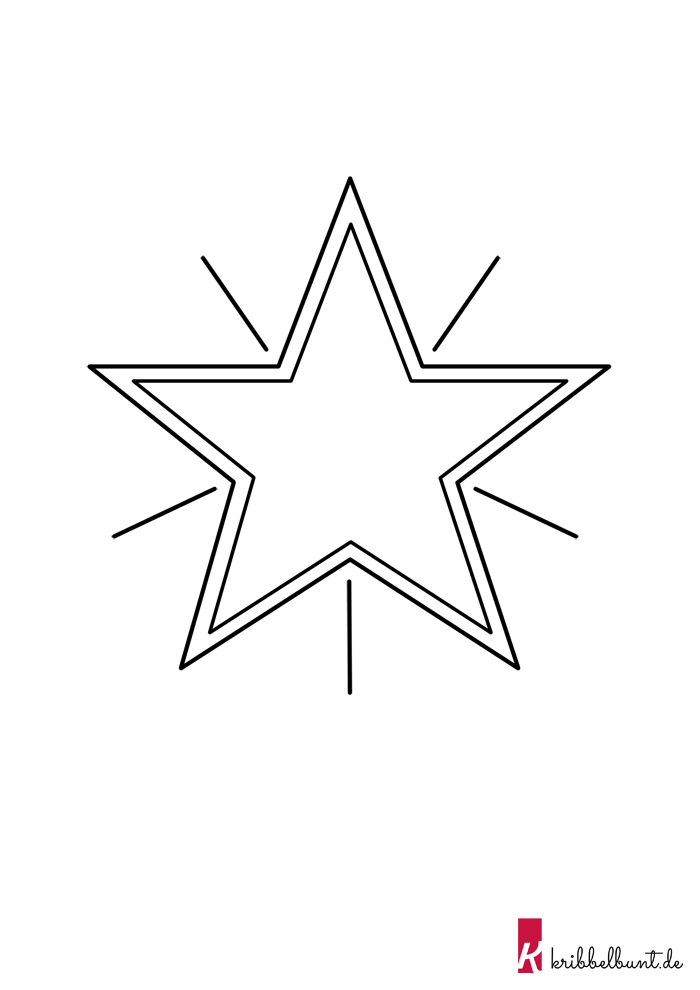 Diese Stern Vorlage Im Pdf Format Und Weitere Kostenlose Bastelvorlagen Zum Ausdrucken Sterne Basteln Vorlage Sterne Zum Ausdrucken Sterne Basteln Mit Kindern