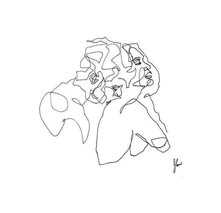 Výsledek obrázku pro rupi kaur lovers drawing