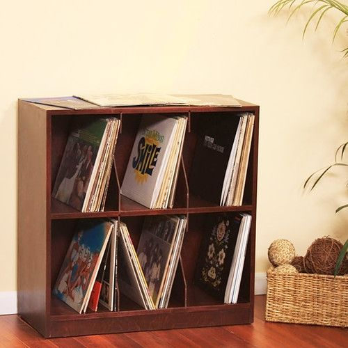 LP record shelf by Gothic Furniture