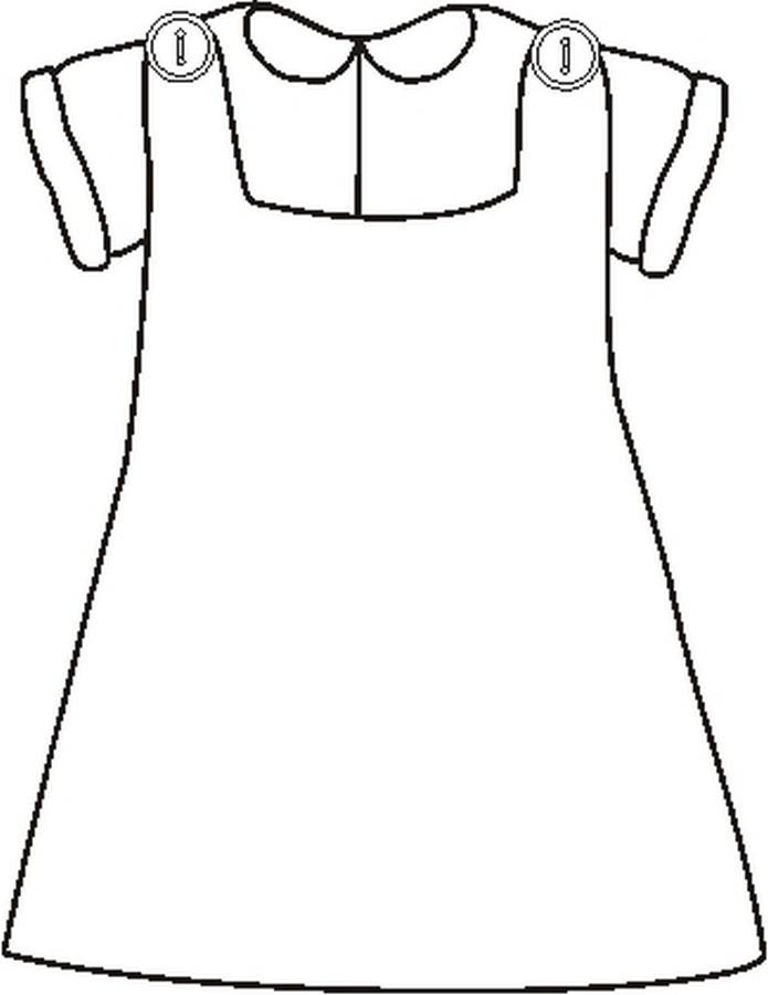 Imagens De Vestidos Para Imprimir E Colorir Bebe Para Colorir