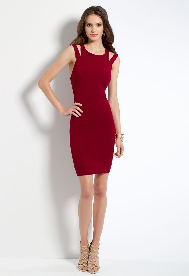 X-Back Sheath Dress from Camille La Vie and Group USA | Posters ...