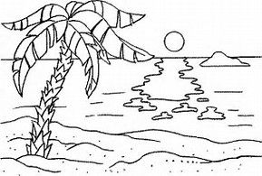 Strandkorb malvorlage  Image result for ocean bottom and beach top coloring pages | Day ...