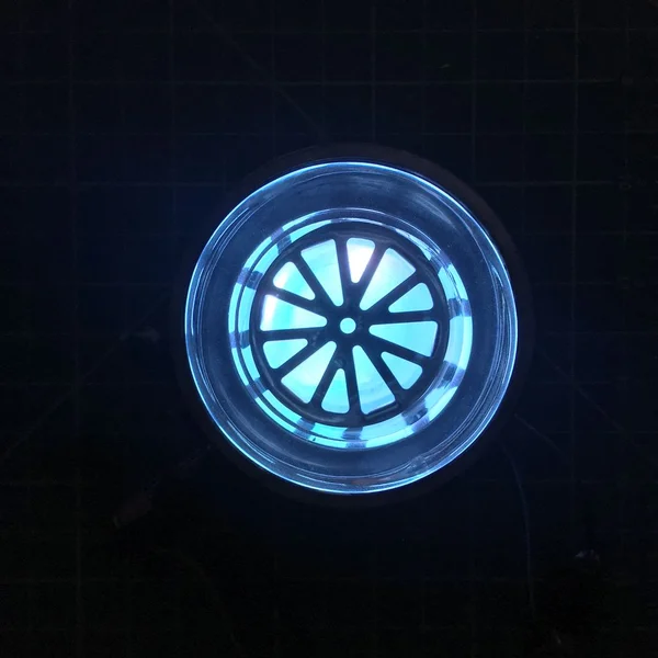 DIY Iron Man MK1 Arc Reactor Iron lighting, Ace hardware