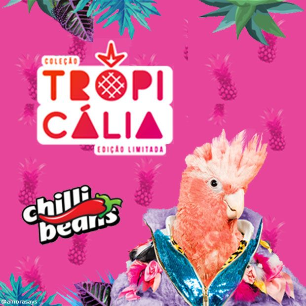 5eb77c1c11790 A Chilli Beans lançou em fevereiro a Coleção Tropicália que representa o  nosso país em diferentes