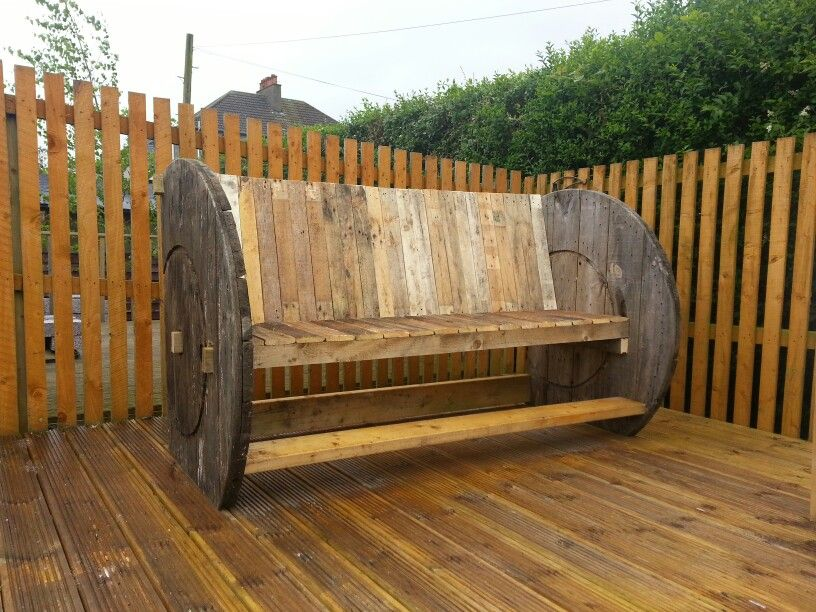 Cable Reel Bench