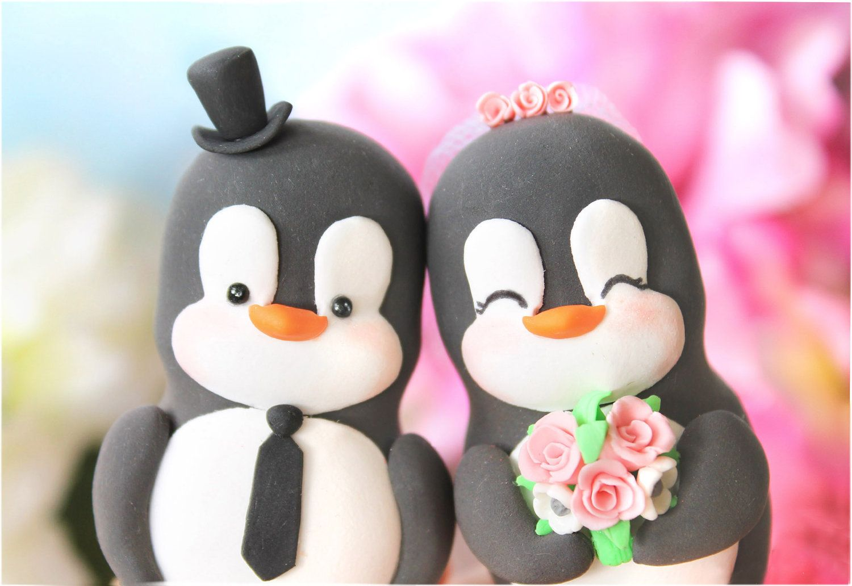 penguin cake toppers Lauren Davison Michelle I think you