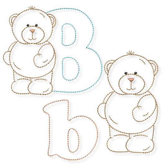 """""""B"""" wie Bär - das Tier-ABC geht weiter » BERNINA Blog"""