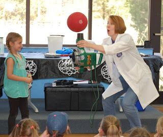 Mad Science at Girl Scout Spring Break Camp