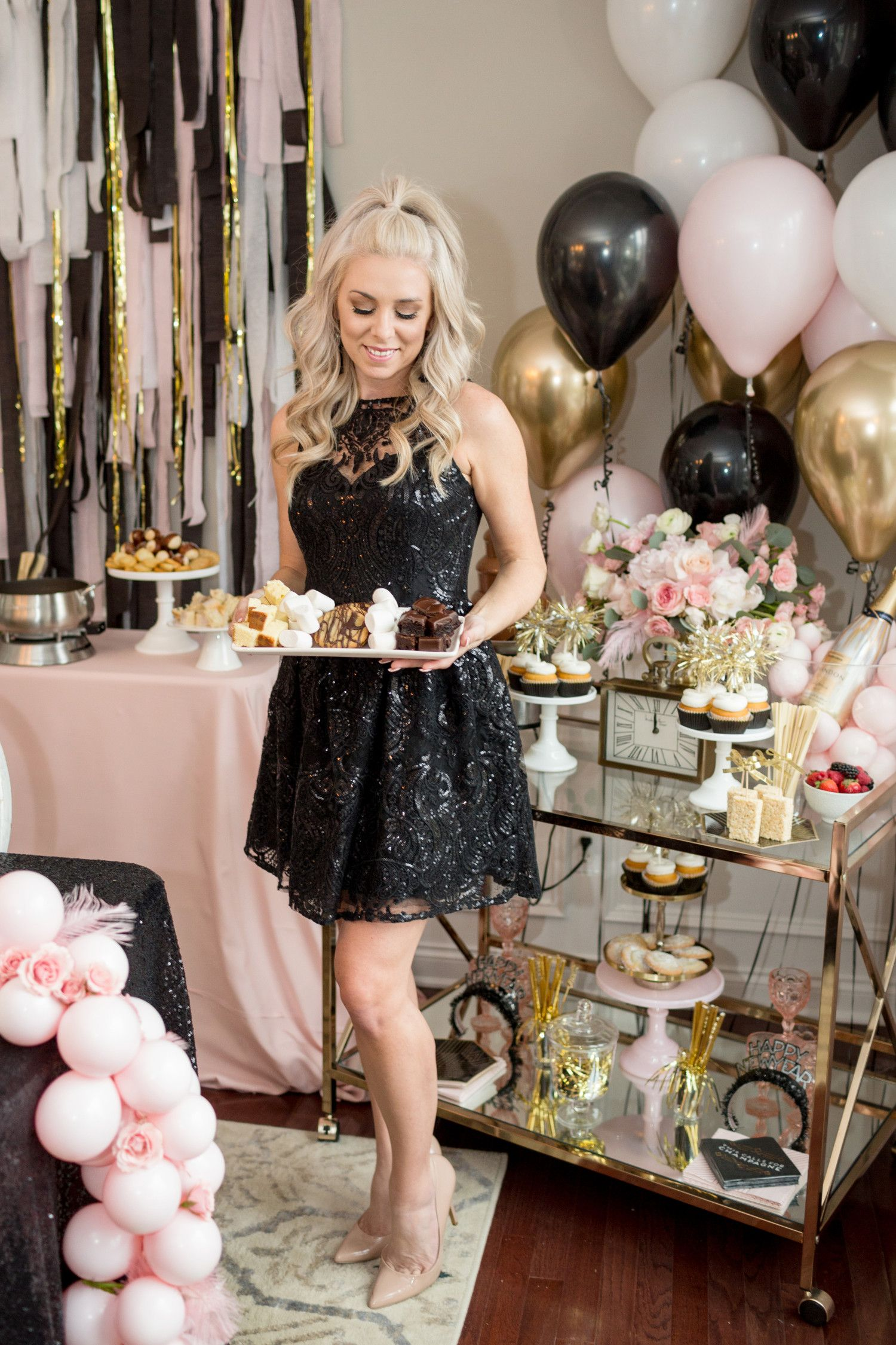 Glam Home New Year S Eve Party That Is Parent Kid Approved Kids New Years Eve New Year S Eve Party Themes New Years Eve Decorations
