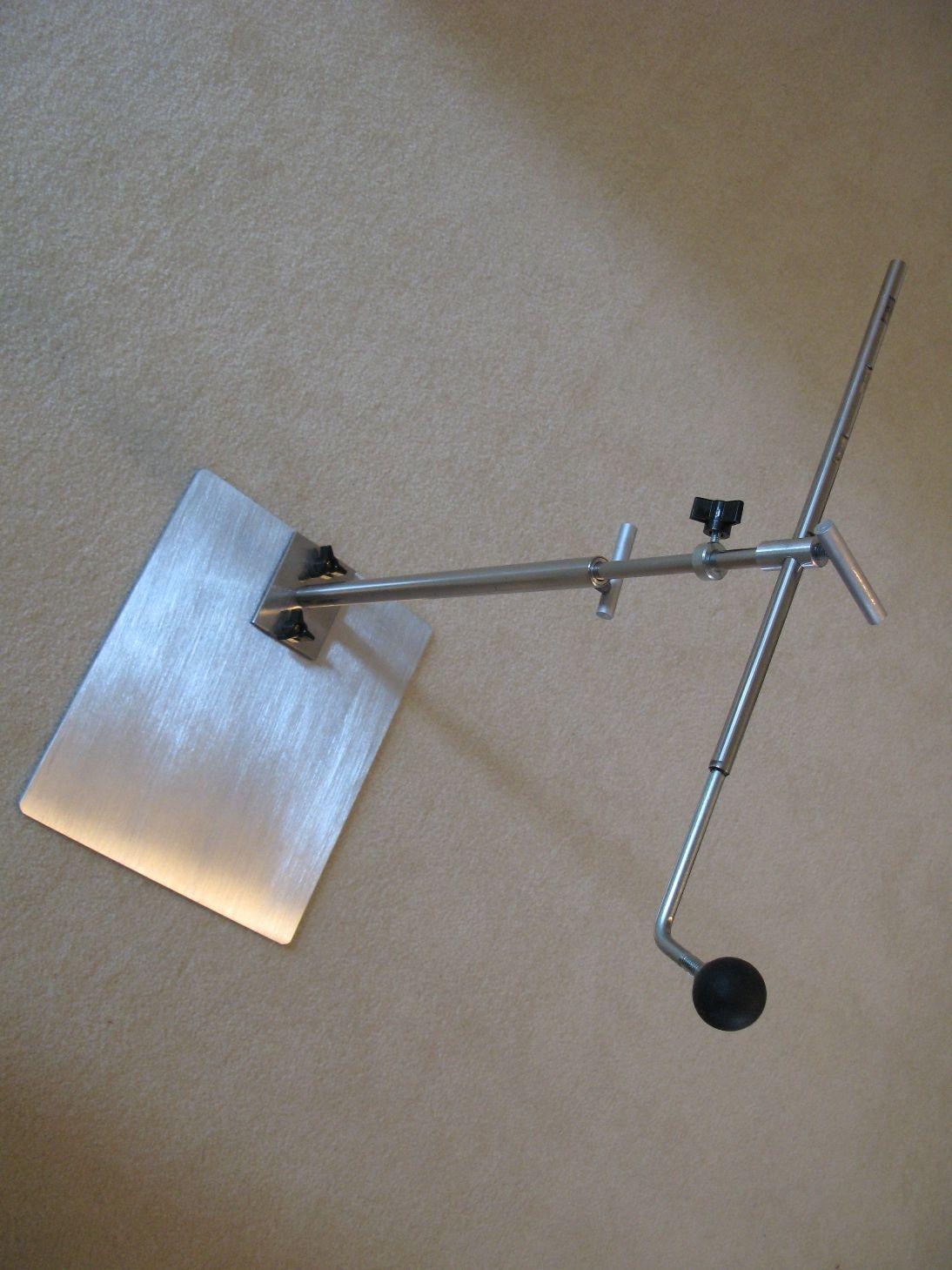 Show Details For Rug Hooking Frame Stand Horizontal Large Base Floor Model Compatible With