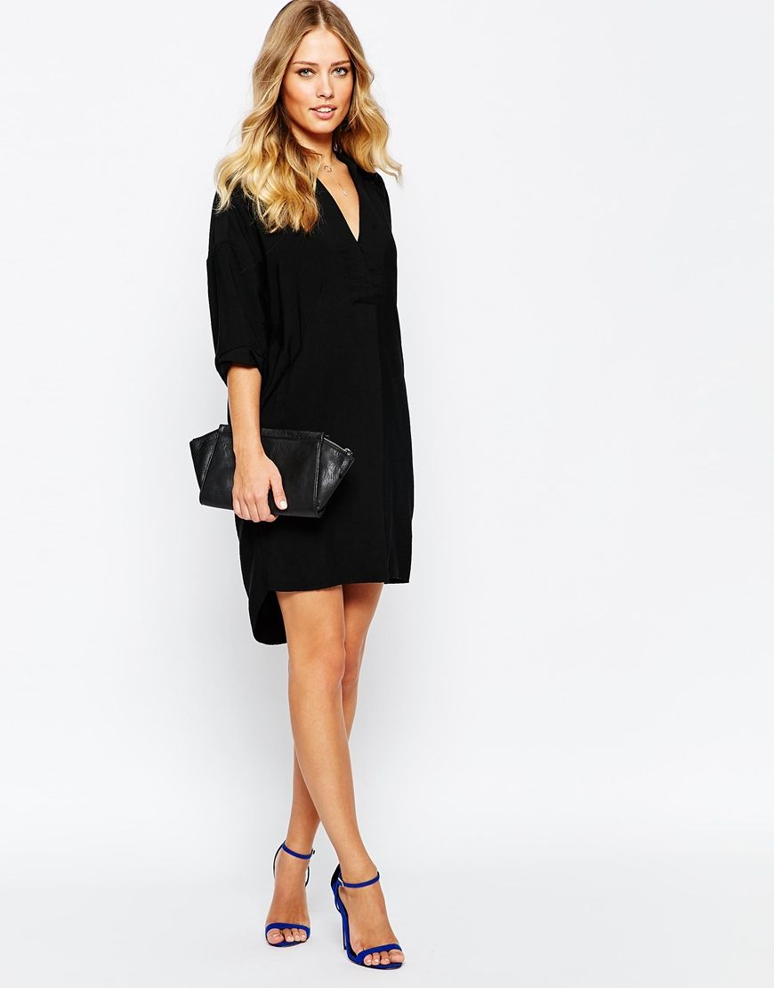 Image 4 Of Whistles Lola Oversized Shirt Dress Wish List