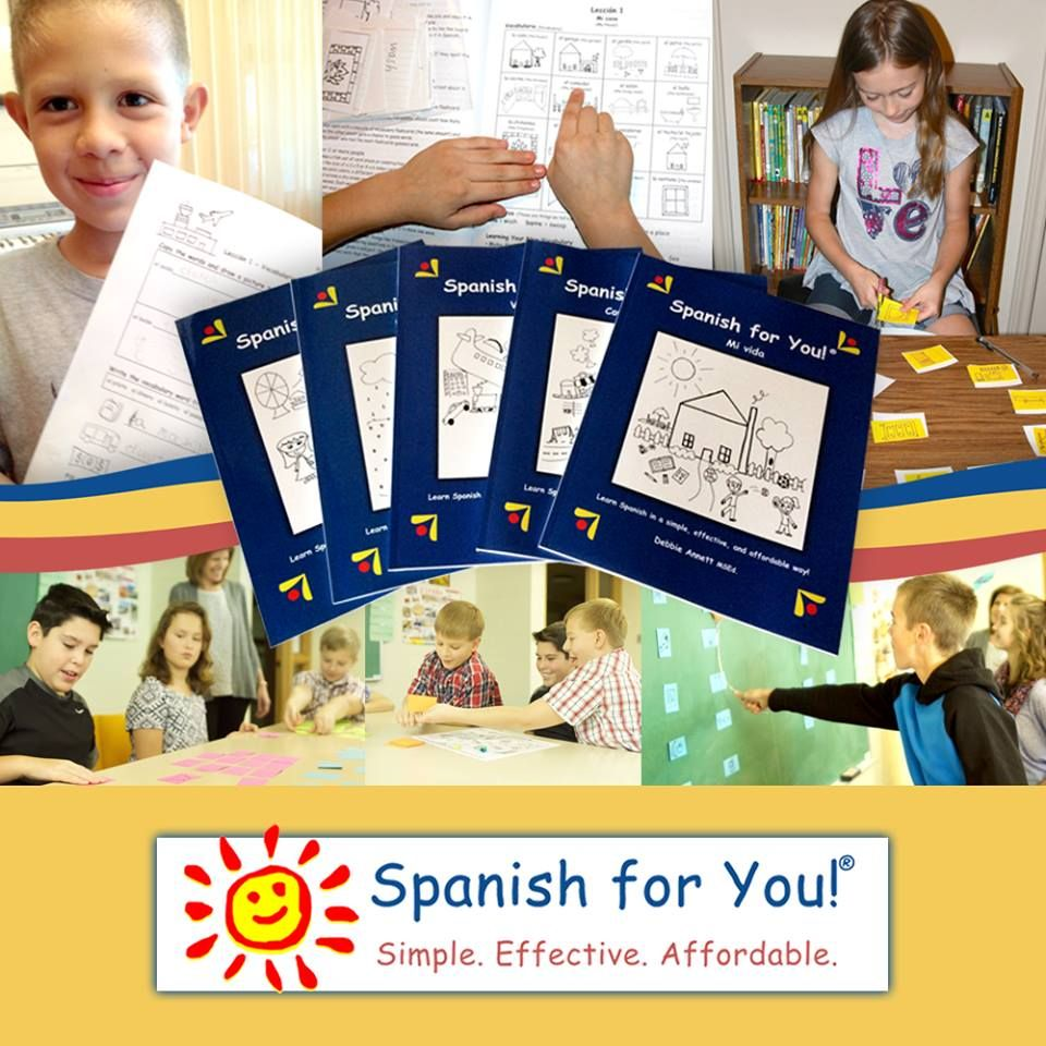 Spanish Curriculum for Homeschool and Co-op Classes Grades 3-8  Fun