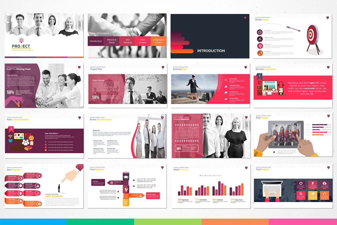 powerpoint template modern