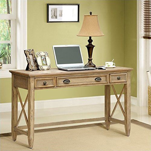 Riverside Furniture Coventry Writing Desk In Weathered Driftwood
