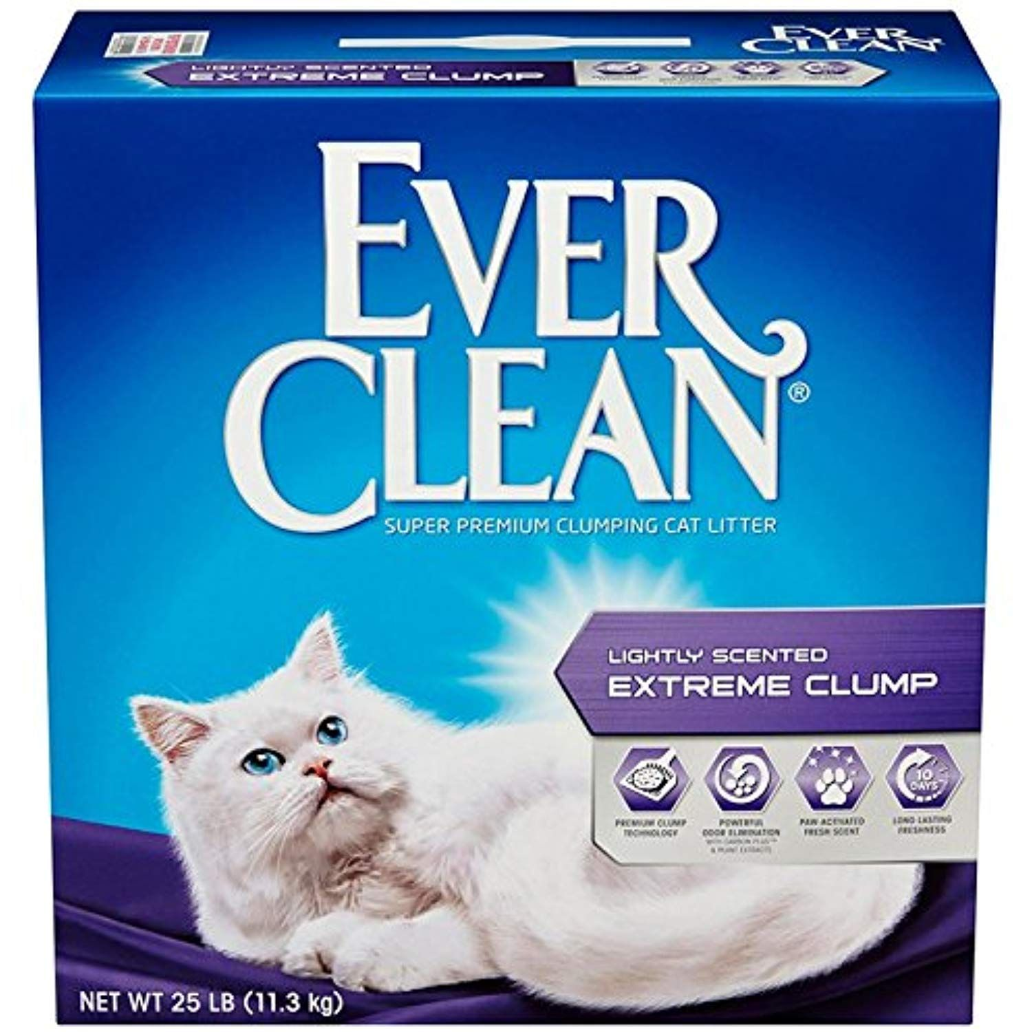 Ever Clean Extreme Clump, Clumping Cat Litter, Scented, 25