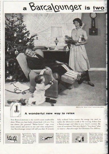 1958 BarcaLounger Ad \