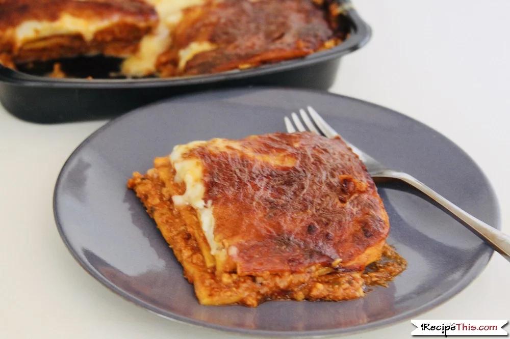Air Fryer Frozen Lasagna Recipe This Recipe Frozen Lasagna Air Fryer Recipes Healthy Air Fryer Recipes Easy