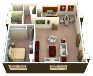 One Bedroom Square Feet 705 855 Sq Ft Apartments For Rent Apartment Communities Apartment