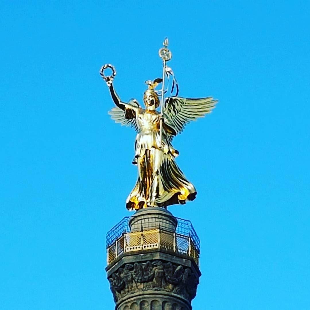 Victory. #Berlin #Germany #Deutschland #travel #sky #blue #iloveberlin #ichliebeberlin #visit_berlin