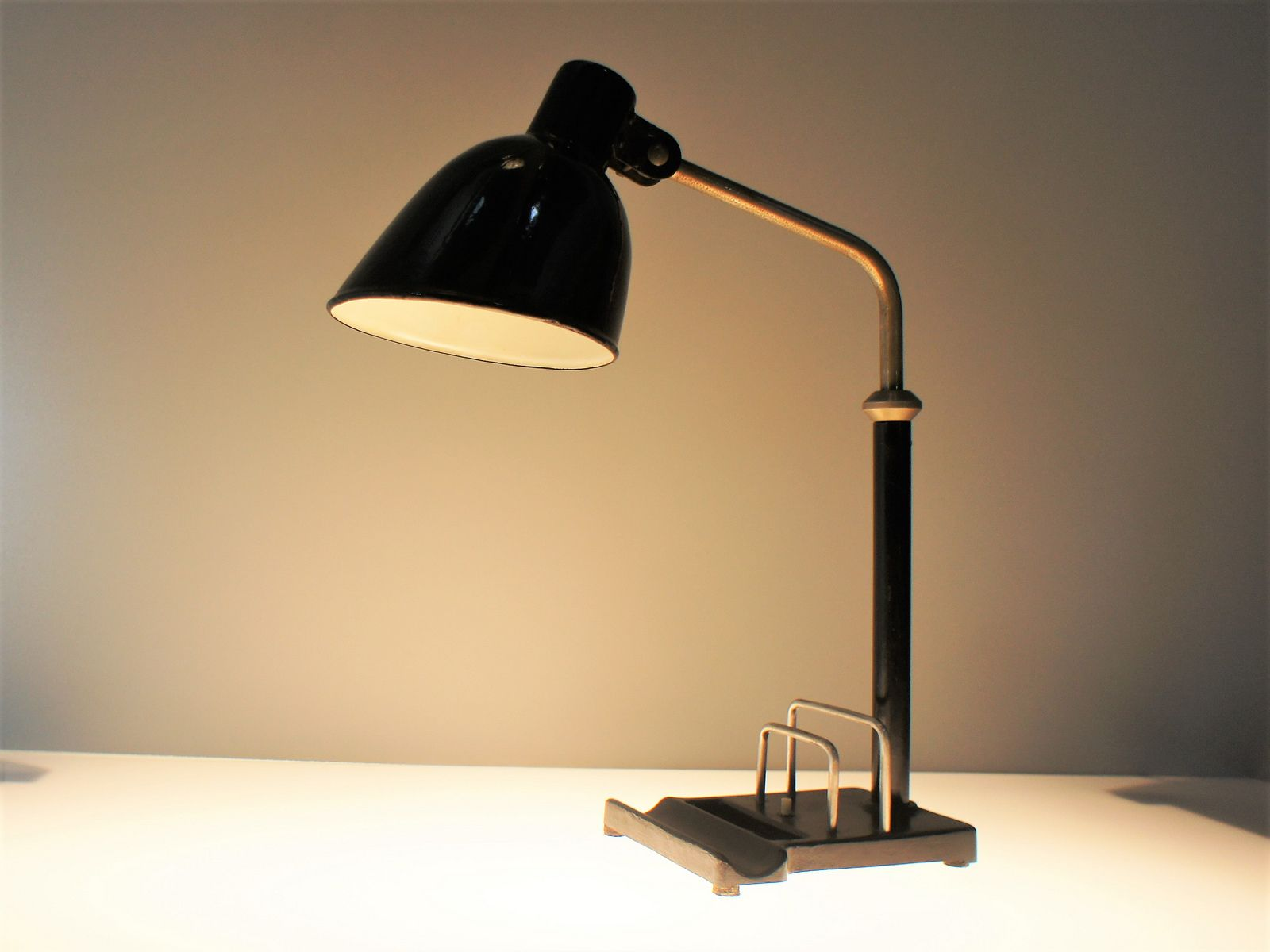 Christian Dell Bauhaus Light Table Table Lamp Table