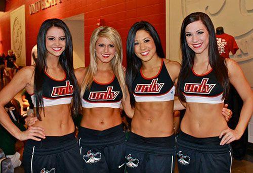 Image result for unlv cheerleaders