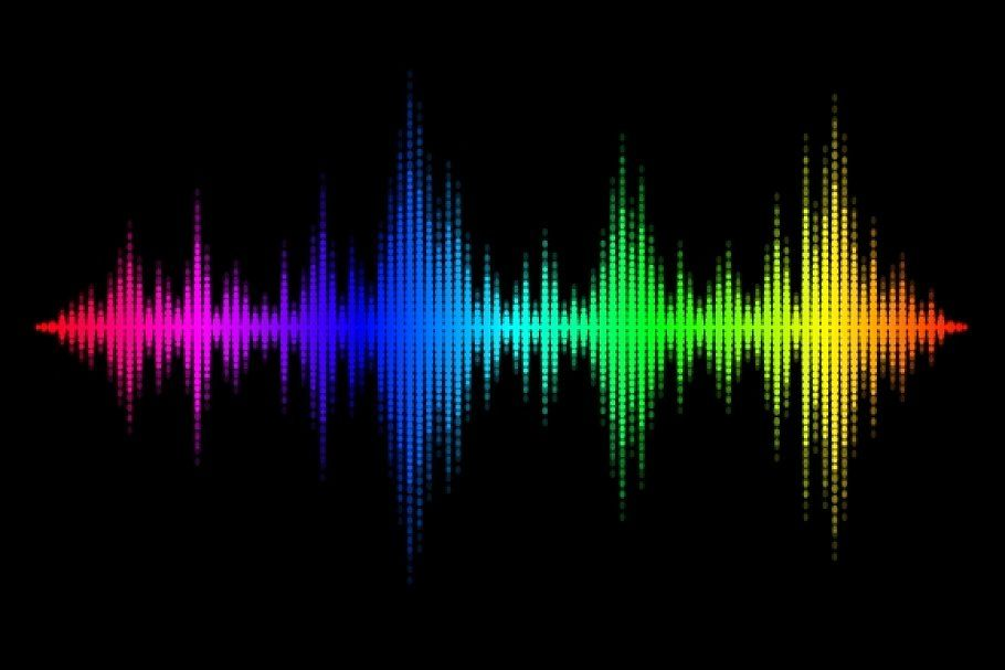 Sound wave background #Sponsored , #Paid, #wave#background#Colorful#sound | Waves background, Sound waves design, Waves