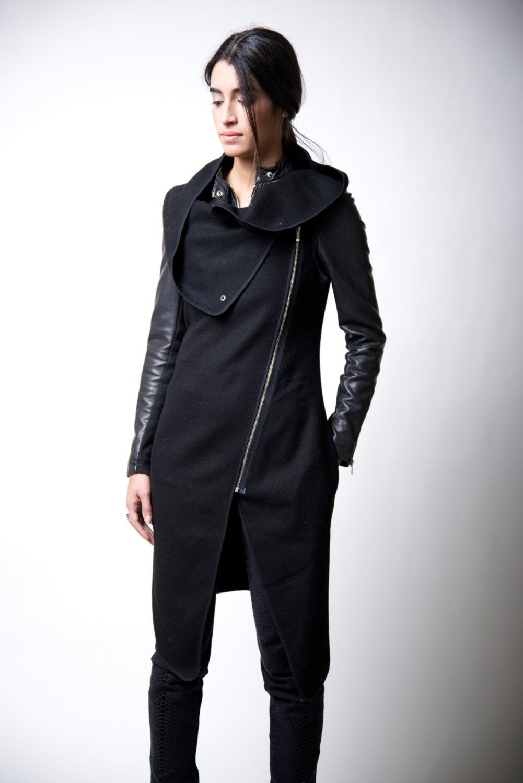 Asymmetrical Vest with Zipper / Wool Sleeveless Vest / Designer Coat - MC016 par marcellamoda sur Etsy https://www.etsy.com/fr/listing/175756099/asymmetrical-vest-with-zipper-wool