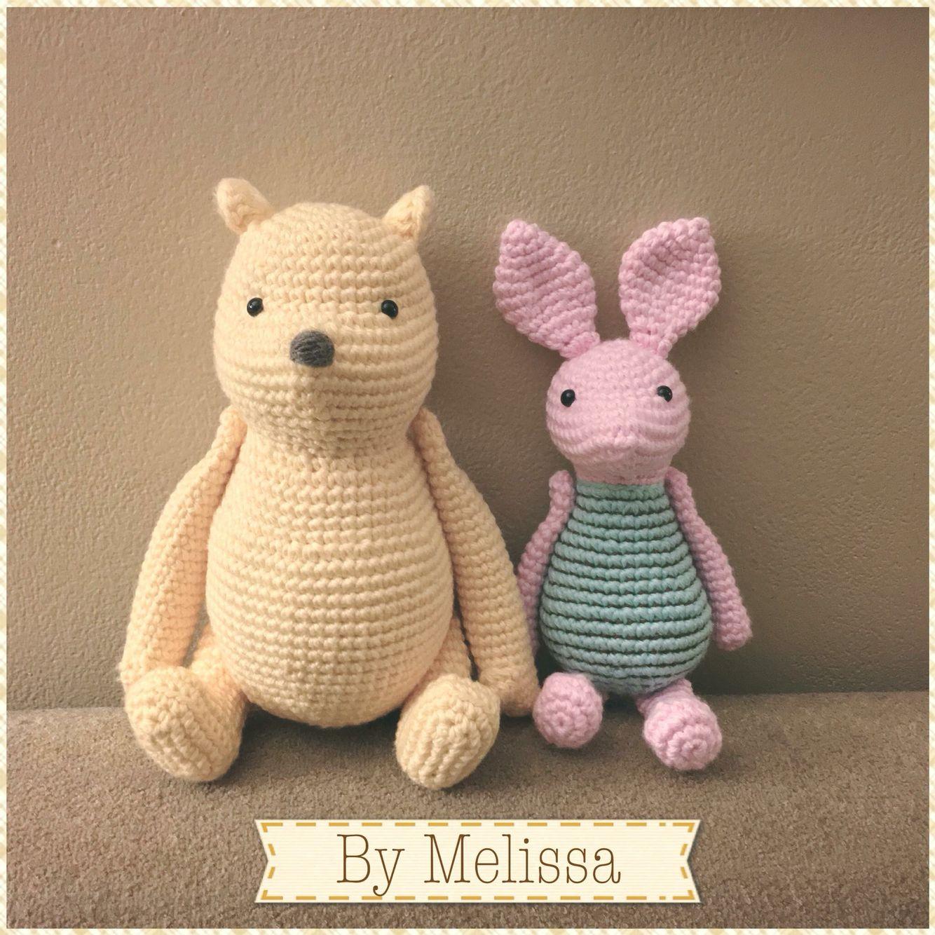 Amigurumi Winnie The Pooh Free Crochet Pattern - Amigurumi Free ... | 1334x1334