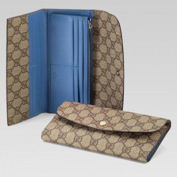 Gucci 256926 AA61G 9022 Continental Geldb?rse mit Verriegelung G Anzeigen Gucci Damen Portemonnaie