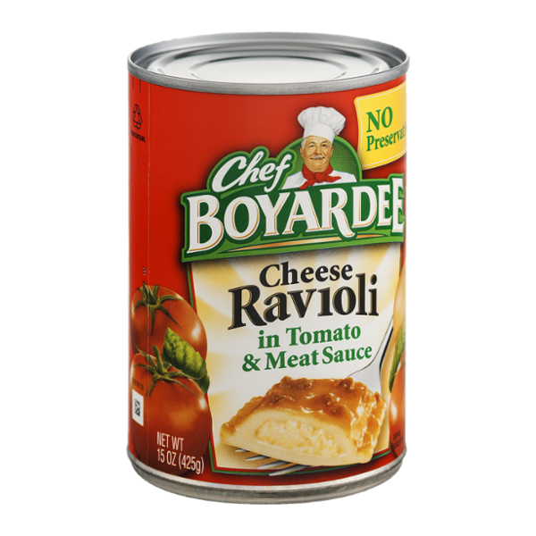 Chef Boyardee Cheese Ravioli In Tomato Meat Sauce Reviews Find The Best Products Influenster Chef Boyardee Meat Sauce Grocery Foods