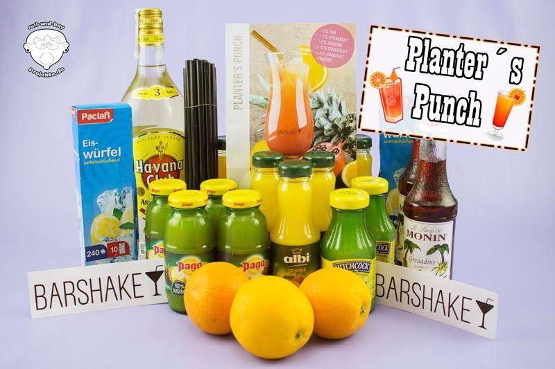 Barshake | Planter's Punch Cocktailbox - Susi und Kay Projekte Wir lieben Cocktails, deshalb haben wir uns mal eine Cocktailbox von Barshake bestellt.  In meinem Blogpost findet ihr auch ein Unboxing Video der Cocktailbox. Schaut doch mal vorbei.  (Beitrag könnte rechtlich gesehen Werbung enthalten)  #BARSHAKE #cocktails #cocktail #feiern #trinken #party #geburtstag #geschenk #geschenkidee #guterabend #shaken #cocktailabend #alkohol #PlantersPunch