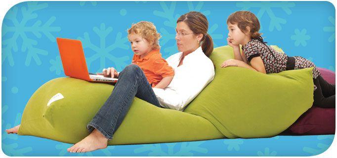 Yogibo Super Cool Beanbag Chairs Contemporary Bean Bags Bean Bag Chair Family Furniture