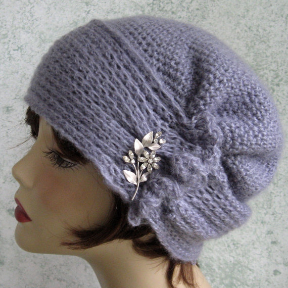 Crochet Pattern Womens Hat Brimmed With Side Gathers Instant ...