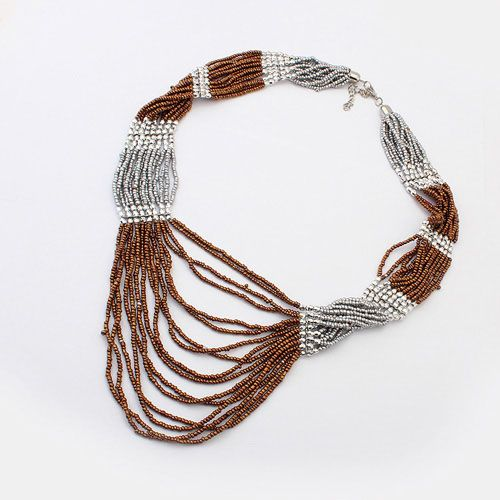 European And American Handmade Beaded Necklace Bohemian Multilayer[US$4.45]shop at www.favorwe.com