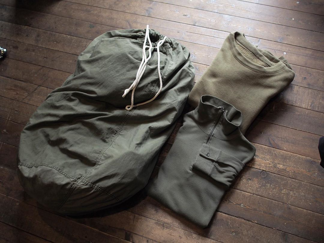 Clover Over Dover Vintage Military Laundry Bag