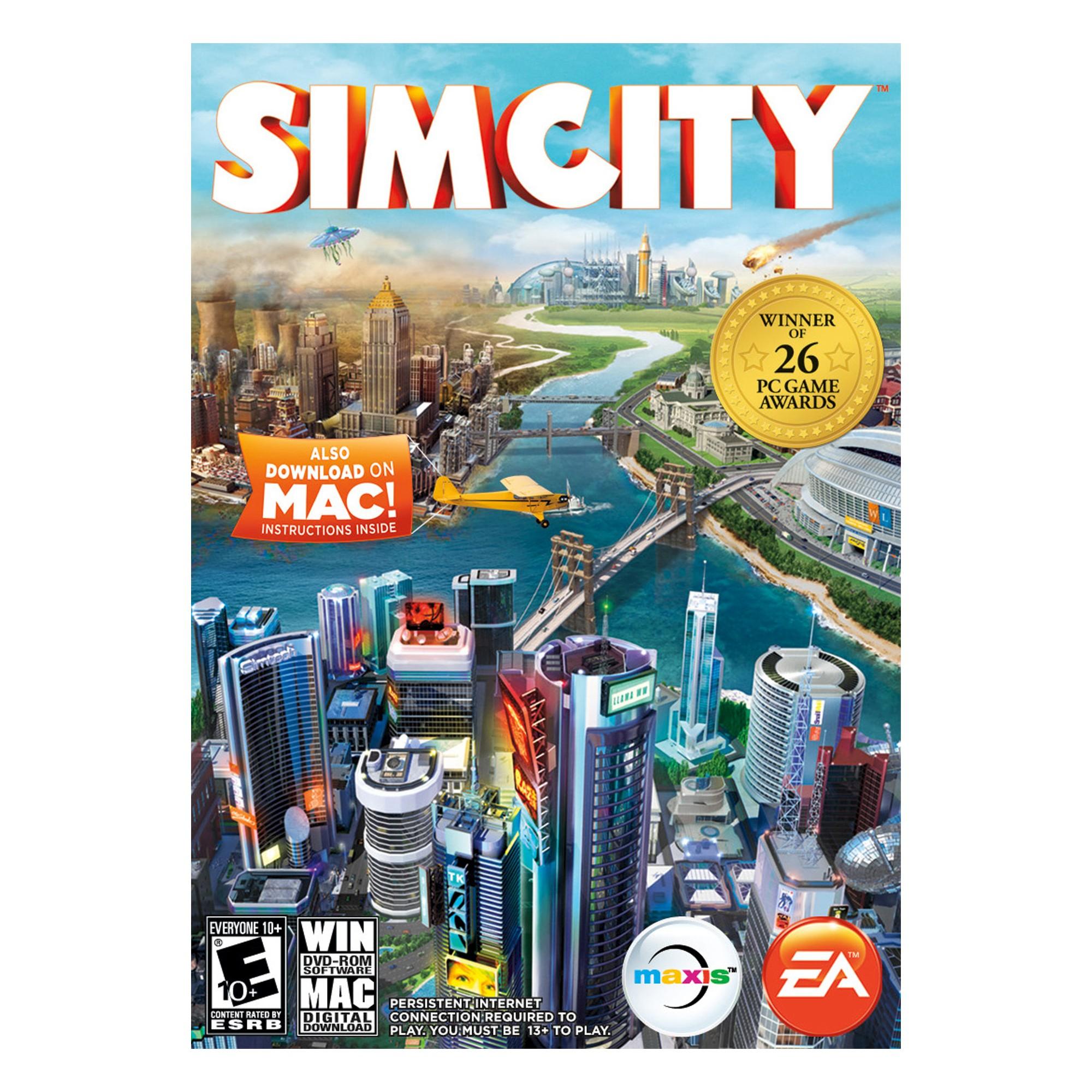 SimCity Electronic Software Download PC/Mac Games, Mac