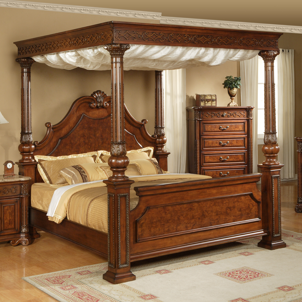 Interesting King Size Canopy Bed Cool Designs Dekorasi