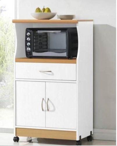 Mueble auxiliar de cocina para microondas buscar con for Mesa auxiliar de cocina para microondas