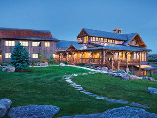 The Lodge & Spa at Brush Creek Ranch, (Photo: Allen Kennedy/Courtesy of Brush Creek Ranch)  Saratoga, Wyo.    Opened in the fall of 2011 on a 13,000-acre, century-old cattle ranch, the Lodge & Spa at Brush Creek Ranch is the newest entrant into the rough-luxe hotel scene in the West. The 37 rooms, split between the main lodge and restored log cabins, are all natural wood and supple leather, with cozy touches such as plaid wooly throws. The all-inclusive rate gives you the run of the place…