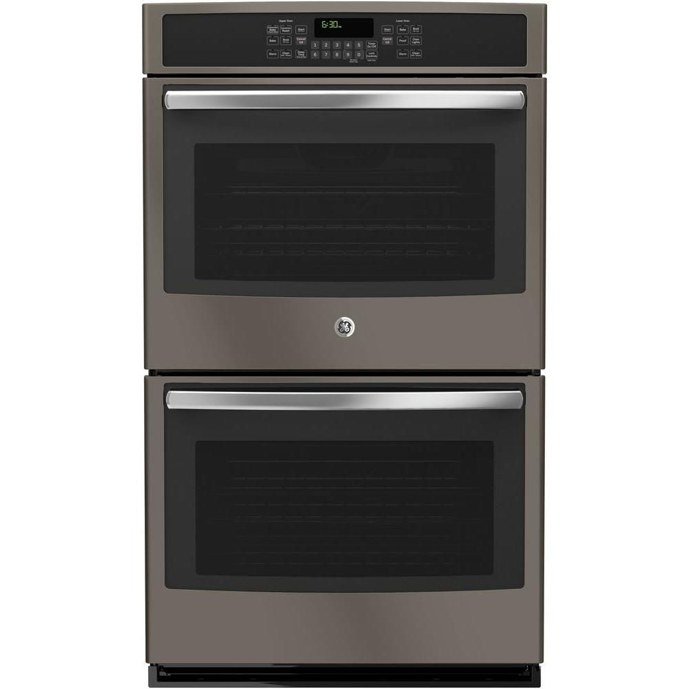 Ge 30 In Double Electric Wall Oven With Convection Upper Oven