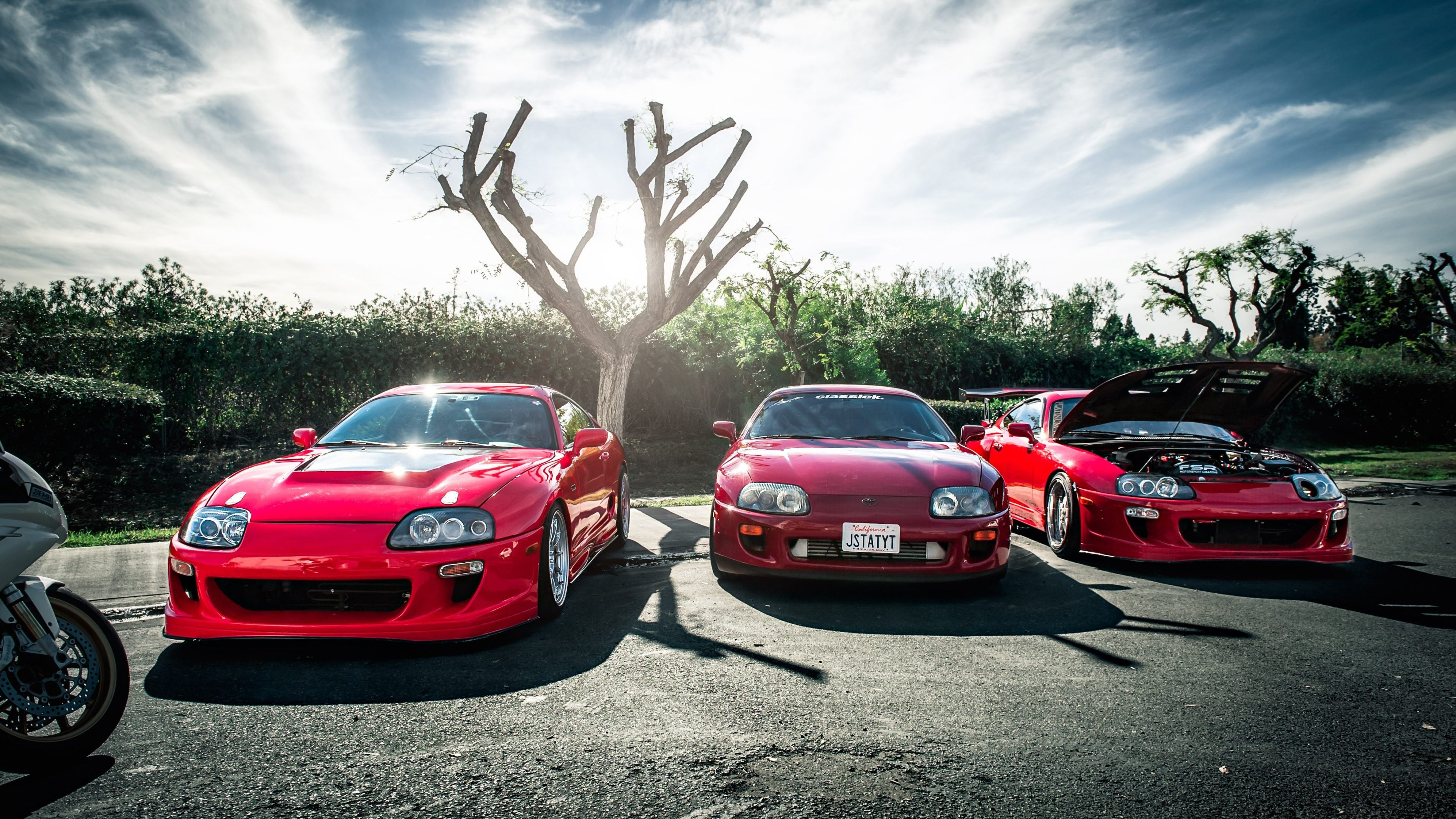 Supra Car Ultra Hd 4k Ultra Hd Wallpaper Ololoshenka Toyota