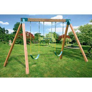 Toys Backyard Kids Indoor Playground Cedar Swing Sets
