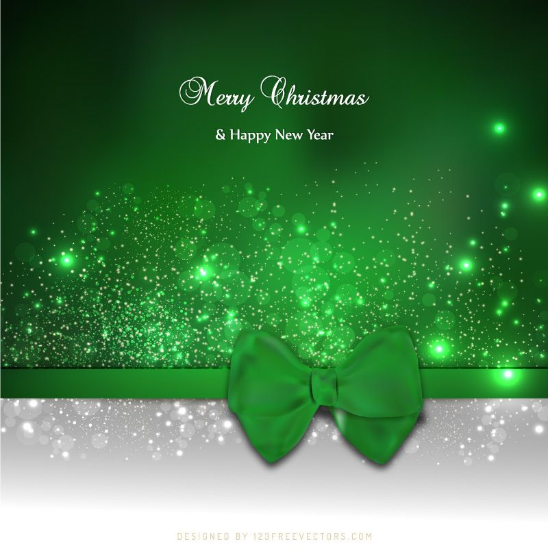 green christmas greeting card bow background image free vector backgrounds free christmas backgrounds christmas